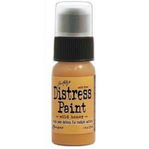 Tim Holtz Distress Paint - Wild Honey